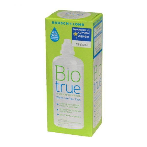 Líquido para lentes de contacto blandas Biotrue Bausch+Lomb