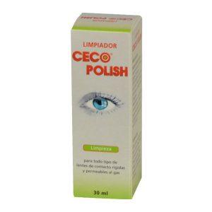 Limpiador de Lentes de Contacto Rígidas Ceco Polish