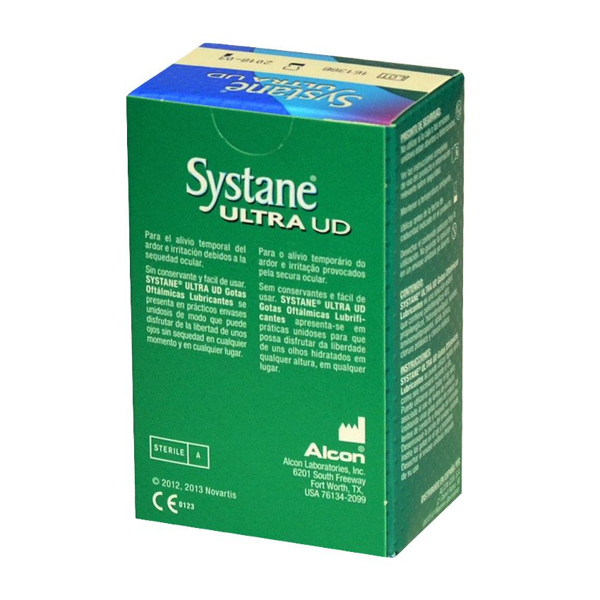 SYSTANE® ULTRA UD Gotas Oftálmicas Lubricantes
