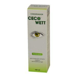 Líquido conservador de lentes de contacto rígidas Ceco Wett