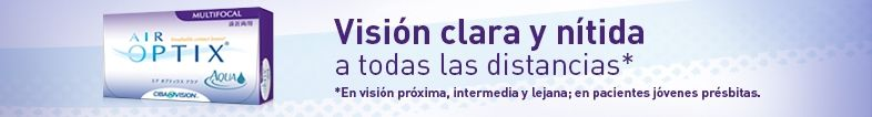 Air Optix Multifocal - lentillas