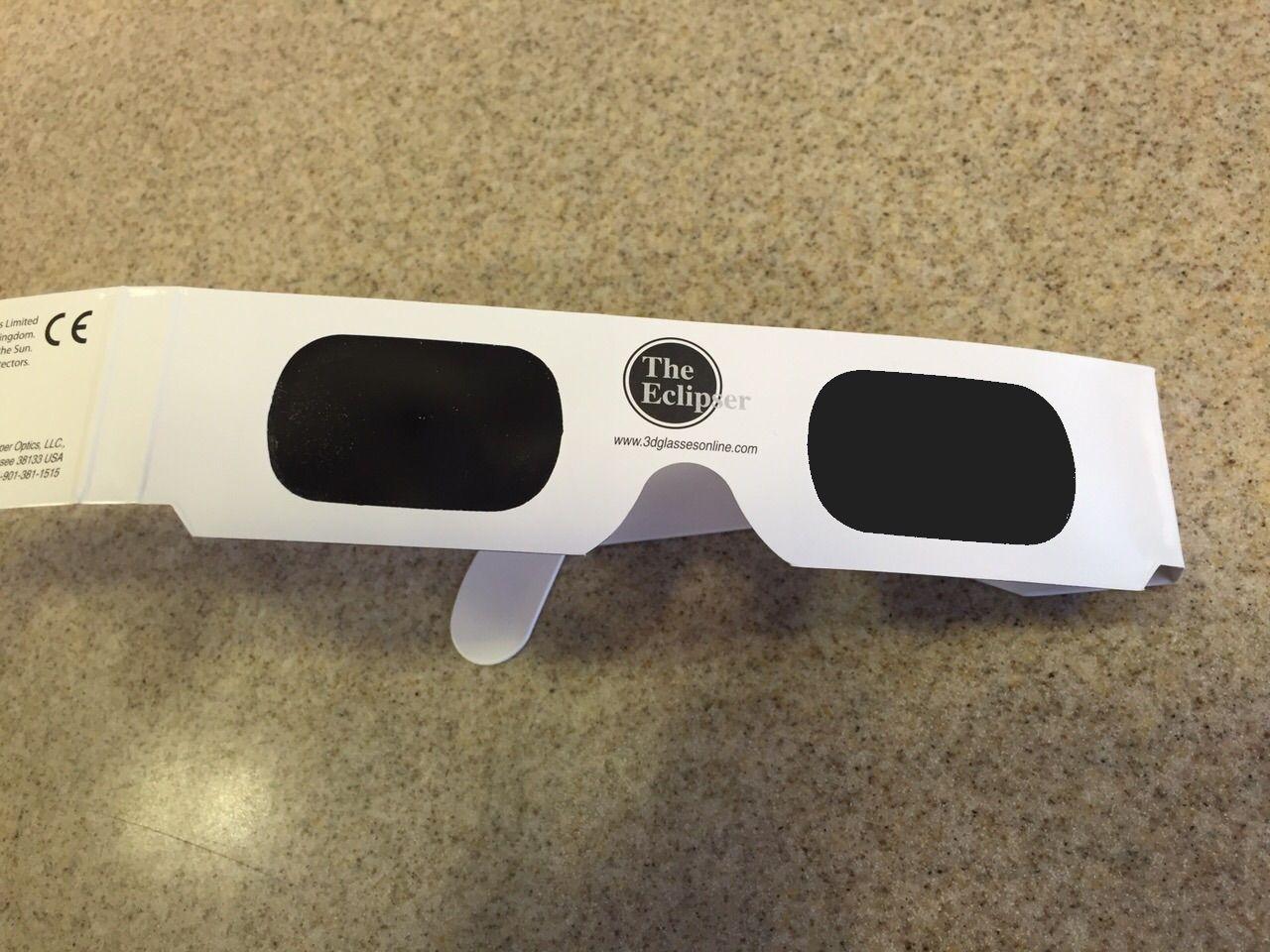 Gafas de sol para ver un eclipse