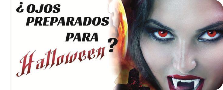 Llega Halloween ¡Dale el toque definitivo a tu disfraz con nuestras lentillas de fantasía!