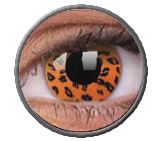 Lentillas Yellow Leopard