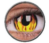 Lentillas Flame Hot