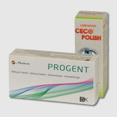 Mantenimiento para lentes de contacto rígidas