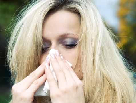 Alergia lentillas