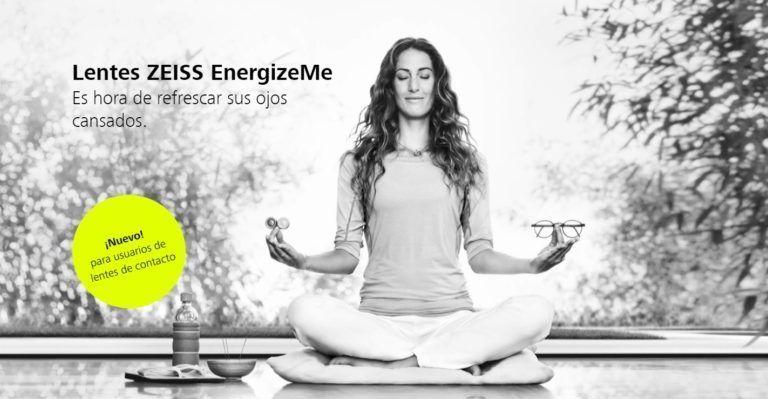 ZEISS EnergizeMe, las lentes diseñadas para usuarios de lentes de contacto.